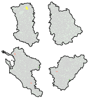 Cartes des communes (données du site)