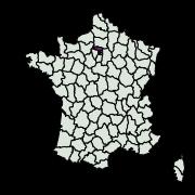 carte de répartition de Hyperlais siccalis (Guenée, 1854)