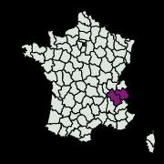 carte de répartition de Pyrausta coracinalis (Leraut, 1982)