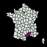 carte de répartition de Apatema impunctella (Amsel, 1940)