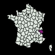 carte de répartition de Chersotis oreina (Dufay, 1984)