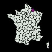 carte de répartition de Phyllonorycter geniculella (Ragonot, 1874)