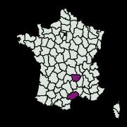 carte de répartition de Endothenia sp.