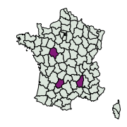 carte de répartition de Colias sp.