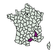 carte de répartition de Hipparchia sp