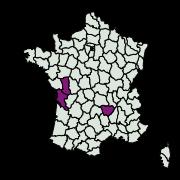 carte de répartition de Dryadaula heindeli (Gaedike & Scholz, 1998)