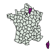 carte de répartition de Actinotia sp.