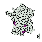 carte de répartition de Paradrina sp.