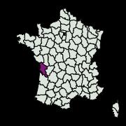 carte de répartition de A déterminer 1