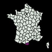 carte de répartition de Pardoxia graellsi (Feisthamel, 1837)