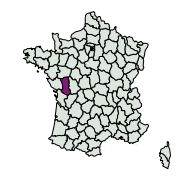 carte de répartition de Caloptilia azaleella (Brants, 1913)