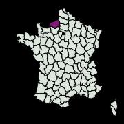 carte de répartition de Digitivalva pulicariae (Klimesch, 1956)